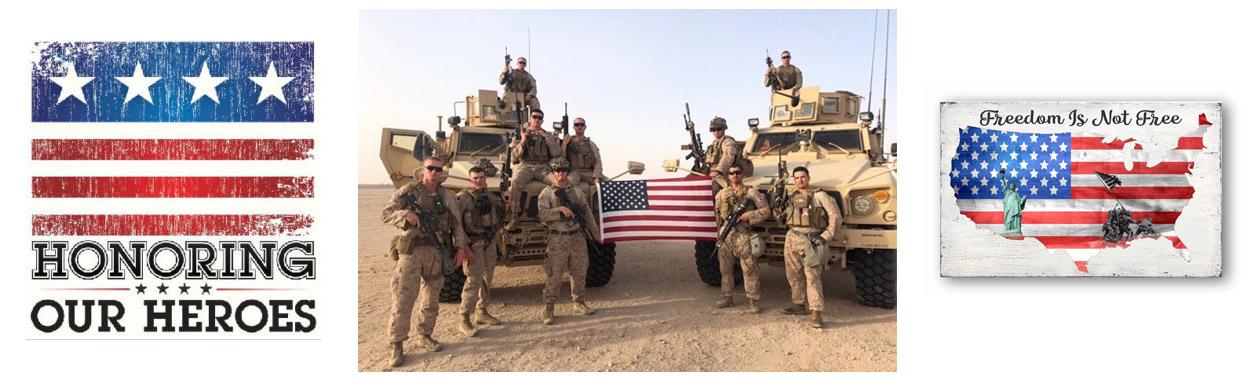 Honoring Our Heros