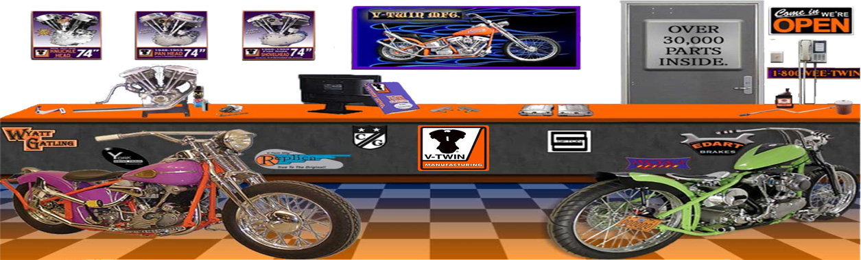 V-Twin Harley-Davidson Parts