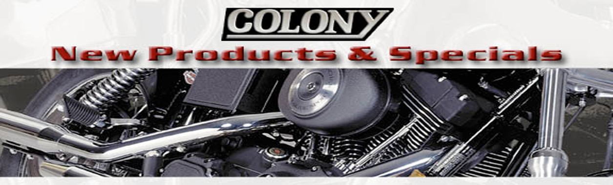 Colony Harley-Davidson Motorcycle Parts