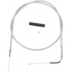 """DRAG SPECIALTIES 5332109B 49"""" Braided Throttle Cable 0650-0306"""