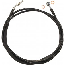"MAGNUM SBC0104-78 XR Stainless Hydraulic Clutch Line - Stainless with Black Coating - 6"" - FLH '14-'16 1132-0948"