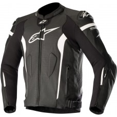 ALPINESTARS (ROAD) 3100118-1200-48 Missile Leather Jacket Black/White 48 2810-3211