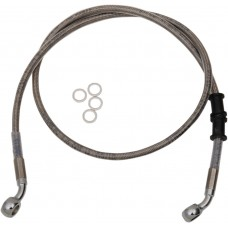 """DRAG SPECIALTIES 614760-2 Front Brake Line - XL - Stainless Steel 2"""" 1741-5358"""