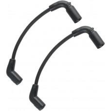 ACCEL 171099-K WIRE PLUG BLACK 8MM FXC/S 2104-0330