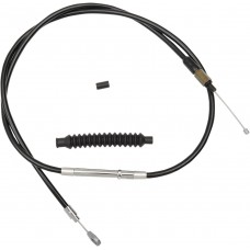 LA CHOPPERS LA-8010C16B Black Vinyl Clutch Cable