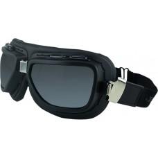 BOBSTER BPIL001 Pilot Goggles - Black - Interchangeable Lens 2610-1018