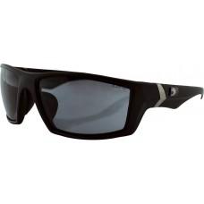 BOBSTER EWHI002 Whiskey Sunglasses - Matte Black - Smoke 2610-0808