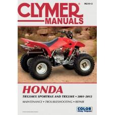 CLYMER M215-2 Manual - Honda TRX250 EX 4201-0224