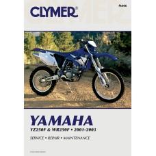 CLYMER M406 Manual - Yamaha YZ250F 4201-0033
