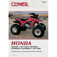 CLYMER M456-4 Manual - TRX250X/300EX 4201-0064
