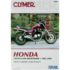 CLYMER Manual - Honda CB550  650 M345