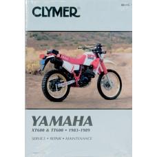 CLYMER Manual - Yamaha XT/TT600 M416