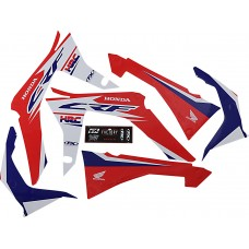 FACTORY EFFEX 23-01340 Evo 17 Graphic Kit - CRF450 17- 4302-5998
