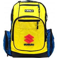 FACTORY EFFEX-APPAREL 23-89400 Suzuki Premium Backpack - Yellow 3517-0472