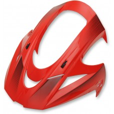 ICON VISOR VAR D-STACK RED 0132-1080