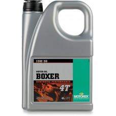 MOTOREX 102295 4T Boxer Oil 15W50 - 4 L 3601-0256