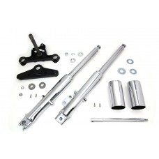 41mm Fork Assembly with Chrome Sliders 24-9943