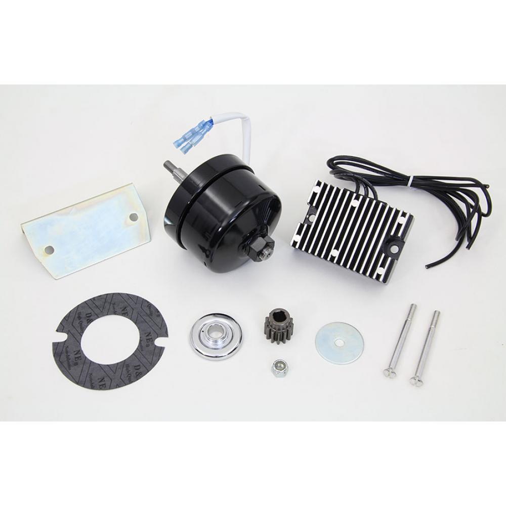XL Black 12 Volt Alternator Generator Conversion Kit