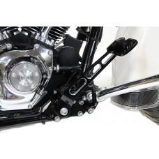 Black Contrast Cut Brake Pedal 23-0061