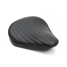Black Tuck and Roll Solo Seat Large 47-0363