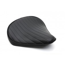 Black Tuck and Roll Solo Seat Large 47-0364
