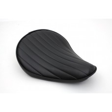 Black Tuck and Roll Solo Seat Small 47-0362