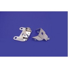 Chrome Front Solo Seat Bracket 31-0825