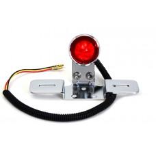 Chrome Universal LED Tail Lamp Assembly 33-1093