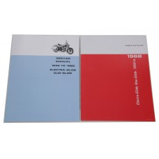 Factory Style Manual Set for Big Twin 48-0941