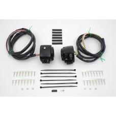 Handlebar Control Switch Housing Kit Black 32-0278
