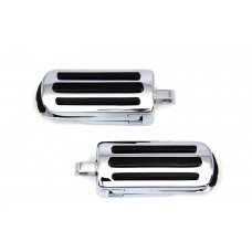 Heel Rest and Footpeg Set Chrome 27-0765