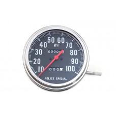 Police Speedometer 2:1 Ratio 39-0862