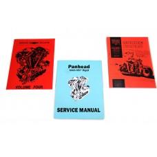 Rigid Panhead Book Set 48-0943