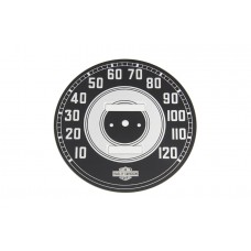 Speedometer with Black Tin Face 39-0056