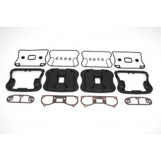 Top Rocker Box Cover and D-Ring Kit Black 42-0362