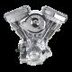 S&S Engine, Assembled, V111, Super E 4 Hole, Super StockIgnition, 585 Cam, Polished, 1984-'99 bt 310-0385