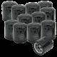S&S Filter, Oil, SB, SH S&S V-Series, Black, 12 Pack 310-0239