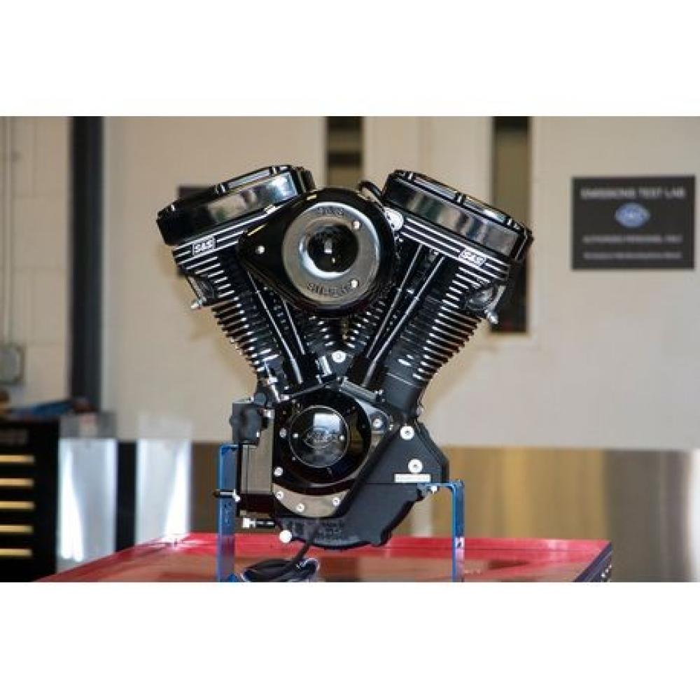 S&S V111 Black Edition Engine for 1984-'99 HD Models with Evolution Engines  - 585 Cams 310-0828 | Vital V-Twin Cycles