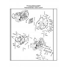 BEARING,PINION SHAFT(WHITE/GRAY A-24659-87