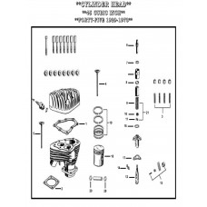 GASKETS,VALVE COVER PACKING L-3-1106