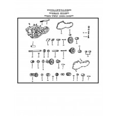 STUD & BUSHING, KIT (IDLER GEAR) A-25791-77