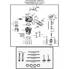 VALVE EXHAUST, (PLAIN FINISH) E-610