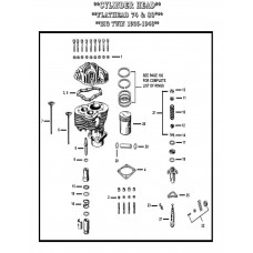 VALVE GUIDE STD, INTAKE & EXHAUST E-570