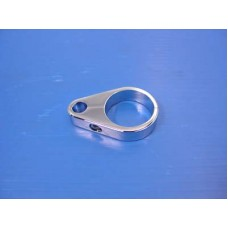 35mm Clutch Cable Clamp Chrome 37-8913