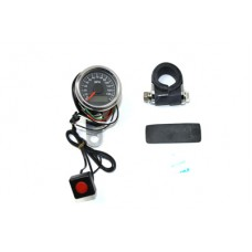 48mm Deco Mini Electric Speedometer 39-0598