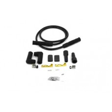 Accel Black 8.8mm Spark Plug Wire Kit 32-9248