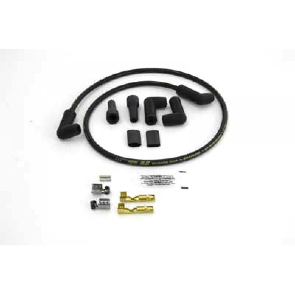Accel Black 8.8mm Spark Plug Wire Kit 32-9250 | Vital V-Twin Cycles