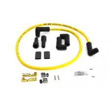 Accel Yellow 8.8mm Spark Plug Wire Kit 32-7536