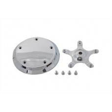 Air Cleaner Insert Smooth Chrome 34-0444