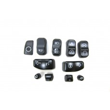 Black Switch Cover Set 32-1243
